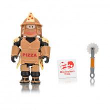 Игровая коллекционная фигурка Jazwares Roblox Core Figures Loyal Pizza Warrior W6 (ROB0199)