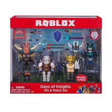 Игровая коллекционная фигурка Jazwares Roblox Mix &Match Set Days of Knights в наборі 4шт. (10873R)