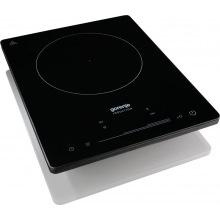 Индукционная плита Gorenje ICE2000SP/1 зона нагрева/8 уровней мощности/сенсорное управление/черная (ICE2000SP)