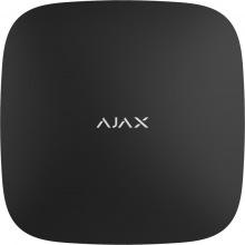 Интелектуальная централь Ajax Hub Plus черная (GSM+Ethernet+Wi-Fi+3G) (12233)