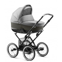 Jedo Детская коляска 2в1 Bartatina[V8 (Bartatina)] (BARTATINAV8-BLACK-MS-14)