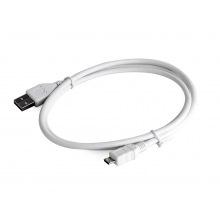 Кабель Cablexpert Micro USB 2.0 AM/BM 0,5м white (CCP-mUSB2-AMBM-W-0.5M)