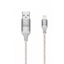 Кабель Remax EL (Ultimate Edition) Lightning 2.1A Data/Charge 1M, white (RC-130I-WHITE)