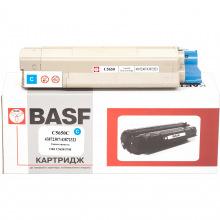 Картридж BASF заміна OKI 43872307/43872323 Cyan (BASF-KT-C5650C)