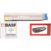 Картридж BASF заміна OKI 44059117/44059105 Yellow (BASF-KT-C810Y)