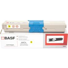 Картридж BASF замена OKI 44469714 Yellow (BASF-KT-MC352-44469714)