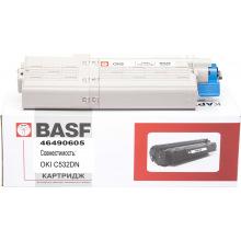 Картридж BASF заміна OKI 46490605 Yellow (BASF-KT-46490605)