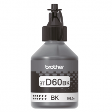 Чернила Brother D60 Black (BTD60BK) 108мл