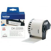 Картридж Brother для специализированного принтера QL-1060N/QL-570QL-800 (62mm x 30.48M) (DK22205)
