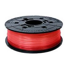 Катушка з ниткою 1.75мм/0.6кг PLA XYZprinting Filament для da Vinci, прозоро-червоний (RFPLBXEU02D)