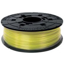 Катушка з ниткою 1.75мм/0.6кг PLA XYZprinting Filament для da Vinci, прозоро-жовтий (RFPLBXEU03B)