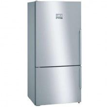 Холодильник Bosch с нижней морозильной камерой - 186x86x81/479 л/No-Frost/А++/нерж. сталь (KGN86AI30U)