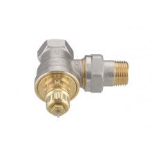 """Клапан Danfoss RA-G 15 термостатический, вх. 1/2 """"- вих. 1/2"""", угловой, никель (013G1676)"""