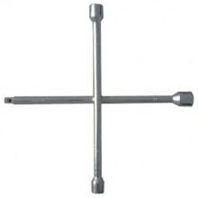 Ключ-хрест балонний 17х19х21х22 мм, товщина 14 мм,  СИБРТЕХ (MIRI14257)