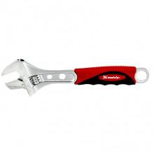 Ключ розвідний 250мм, переставна губка, двокомпонентна  рукоятка,  MTX (MIRI155189)