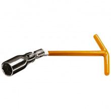 Ключ свічний 21 мм, з шарніром,  SPARTA (MIRI138405)