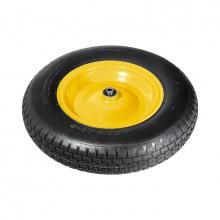 Колесо пневматичне 4.80/4.00-8  D 380 мм, підшипник внутрішній діаметр 12 мм, довжина осі 80 мм,  PALISAD (MIRI689468)