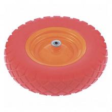 Колесо поліуретанове 4.80 / 4-8, довжина осі 90 мм, підшипник 12 мм,  Palisad (MIRI689788)