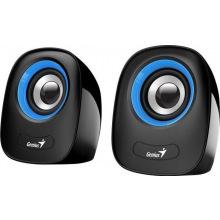 Колонки Genius 2.0 SP-Q160 USB BLUE (31730027403)