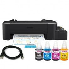 Комплект Принтер Epson L120 (без чернил) + USB кабель + Чернила WWM по 140г (KP.EL120)