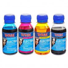 Комплект чорнила WWM ELECTRA B/C/M/Y для Epson 4х100г (ELECTR.SET42) водорозчинне