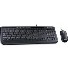 Комплект Microsoft Wired Desktop 600 Black Ru (APB-00011)