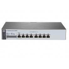 Коммутатор HP 1820-8G Smart Switch, 8xGE ports, L2, Inline PoE, LT Warranty (J9979A)