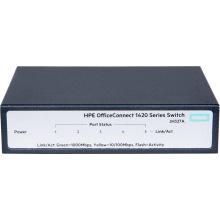 Коммутатор HPE 1420 5G Switch, Unmanaged, 5xGE ports, L2, LT Warranty (JH327A)