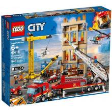 Конструктор LEGO City Міська пожежна бригада (60216-)