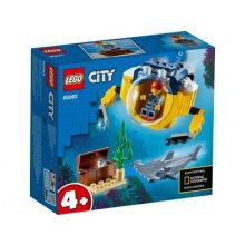 Конструктор LEGO City Океан: мини-субмарина (60263)