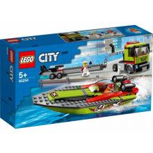 Конструктор LEGO City Перевозчик гоночного катера (60254)