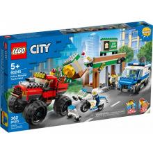 Конструктор LEGO City Ограбление с полицейским грузовиком-монстром (60245)