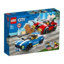 Конструктор LEGO City Полицейский арест на автостраде (60242)