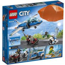 Конструктор LEGO City Воздушая полиция: арест с парашютом (60208)