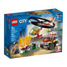 Конструктор LEGO City Пожарный отряд на вертольоте (60248)