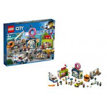 Конструктор LEGO City Открытие магазина пончиков (60233)