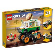 Конструктор LEGO Creator Грузовик-монстр с гамбургерами (31104)