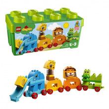 Конструктор LEGO DUPLO Коробка с кубиками «Мое первое животное» 10863 (10863)