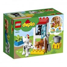Конструктор LEGO DUPLO Животные на ферме (10870)