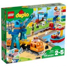 Конструктор LEGO DUPLO Грузовой поезд (10875)