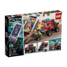 Конструктор LEGO Hidden Side Каскадерский грузовик Ель Фуего (70421)