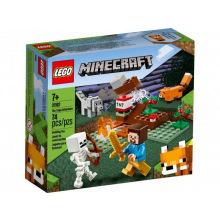 Конструктор LEGO Minecraft Приключения в тайге (21162)