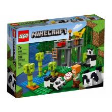 Конструктор LEGO Minecraft Питомник панд (21158)
