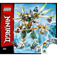 Конструктор LEGO Ninjago Робот-титан Ллойда 70676 (70676)