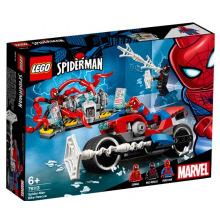 Конструктор LEGO Super Heroes Порятунок на мотоциклі з Людиною-Павуком (76113)