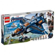 Конструктор LEGO Super Heroes Уникальный Квинджет Мстителей (76126)