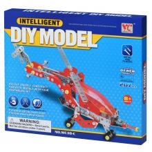 Конструктор металлический Same Toy Inteligent DIY Model Самолет 207 ел. (WC38CUt)