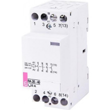 Контактор ETI RA 25-40 230V AC, 4 н.о. (2464094)