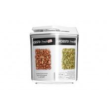 Контейнер Ardesto для сипучих Fresh , 0.9 л, білий, пластик (AR1309WP)
