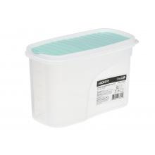 Контейнер Ardesto для сипучих Fresh 1.2 л, голубий тіфані, пластик (AR1212TP)